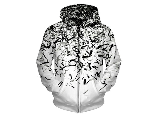 Shattered World Hoodie
