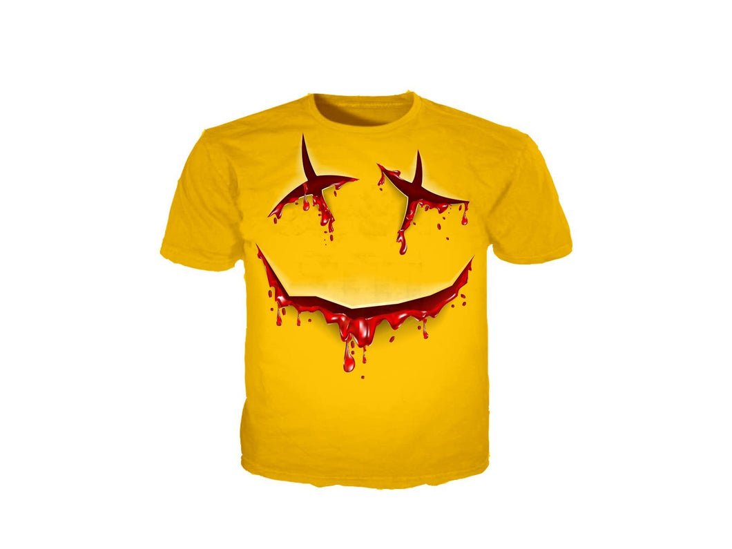 Slit Smile T-Shirt