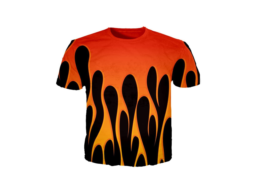 Bike Flames T-Shirt
