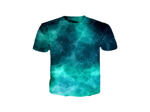 Geometric Galaxy T-Shirt