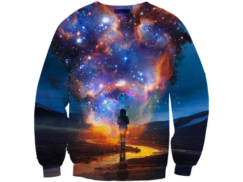 Galaxy Travel Sweatshirt