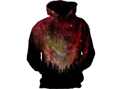 Galaxy Forest Hoodie