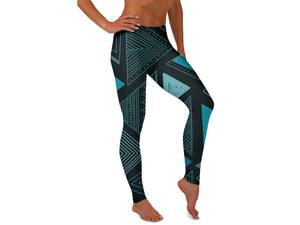 Aztec Lines Yoga Pants