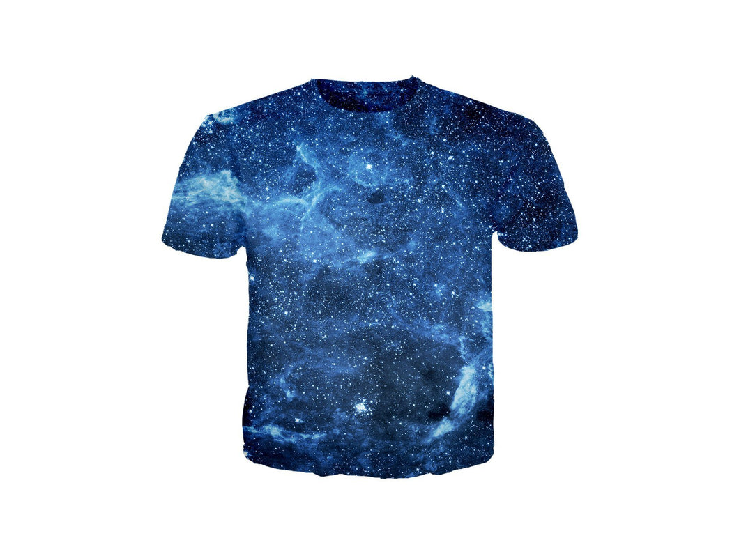 Star Blue Nebula T-Shirt