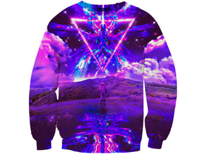 Purple World Sweatshirt