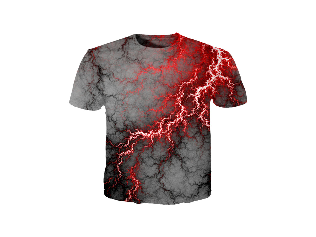 Red Lightning T-Shirt