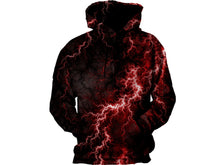 Load image into Gallery viewer, Dark Lightning Hoodie