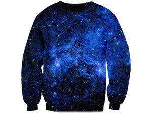 Star Blue Galaxy Sweatshirt