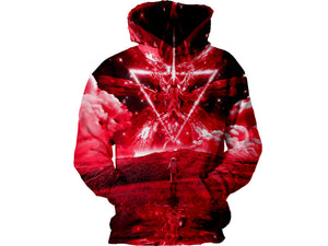 Red World Hoodie