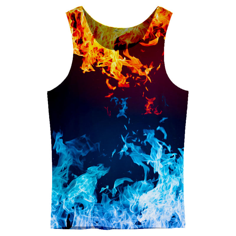 Fire with Ice Tank Top