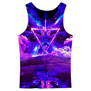 Purple World Tank Top