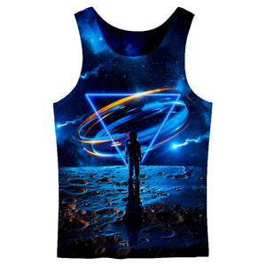 Cross Dimensional Tank Top