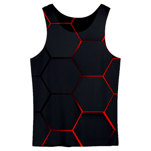 Lava Blocks Tank Top