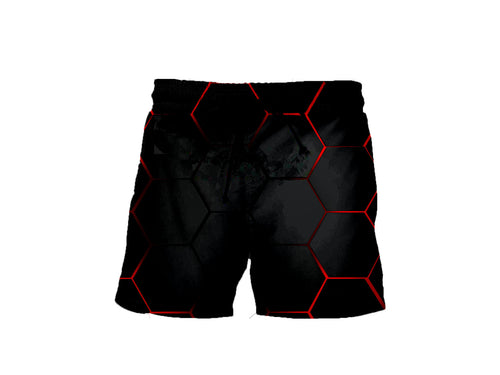 Lava Blocks Shorts