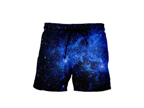 Star Blue Galaxy Shorts