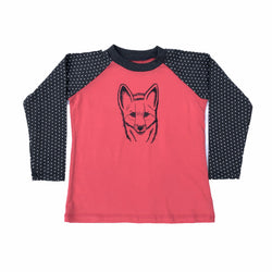 Long Sleeve Fox 6-7 Years