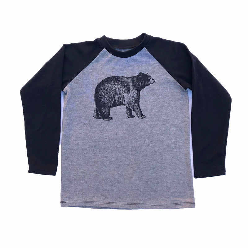 Long Sleeve Bear 6-7 Years