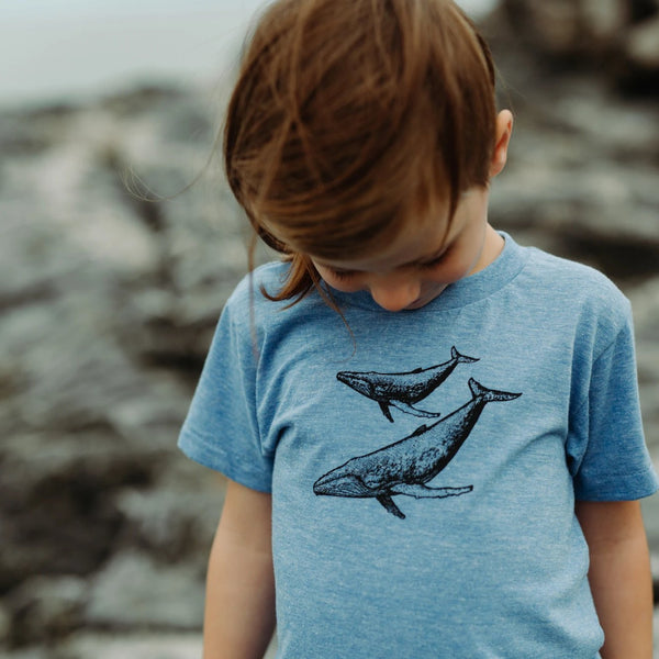 Dottie Handmade | West coast inspired gender neutral kids hand printed t-shirts