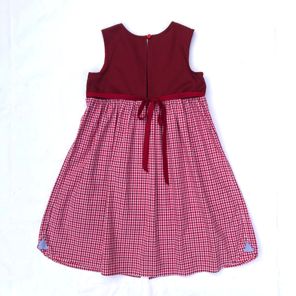 Red Deer Dress 5-6 Years