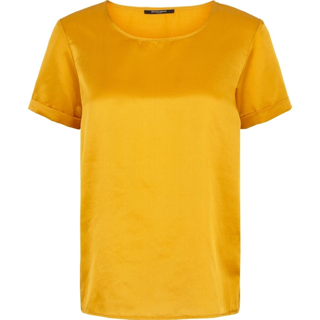 Bruuns Bazaar Women Anni Top Tops Golden Mango