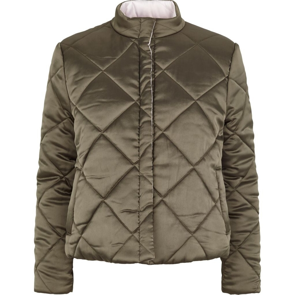 Bruuns Bazaar Women Ava Jacket Outerwear Burned Olive