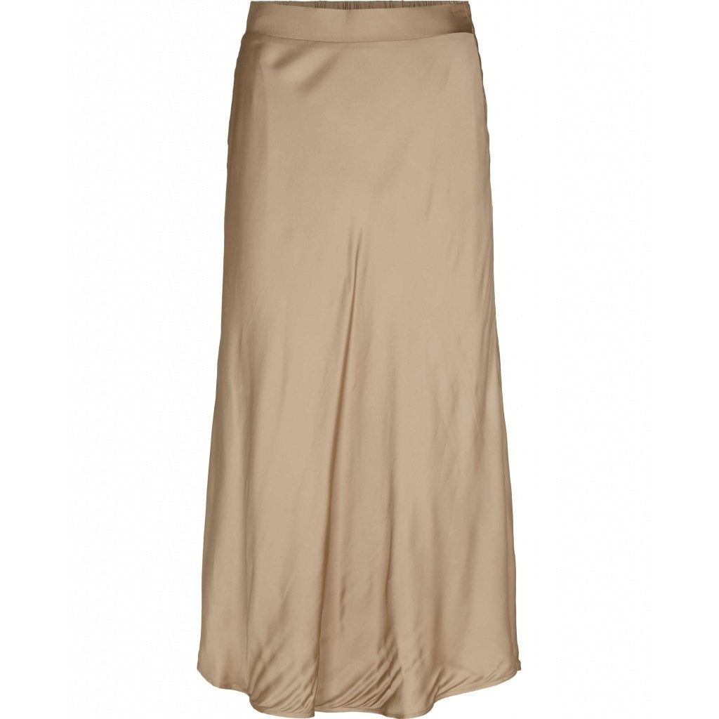 Bruuns Bazaar Women Baca Naomi Nederdel Skirt Roasted Grey Khaki