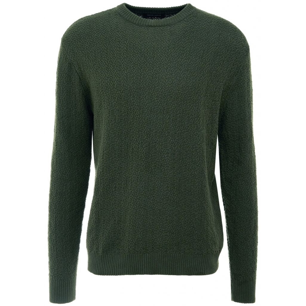 Bruuns Bazaar Men Brian knit Knit Forest Green