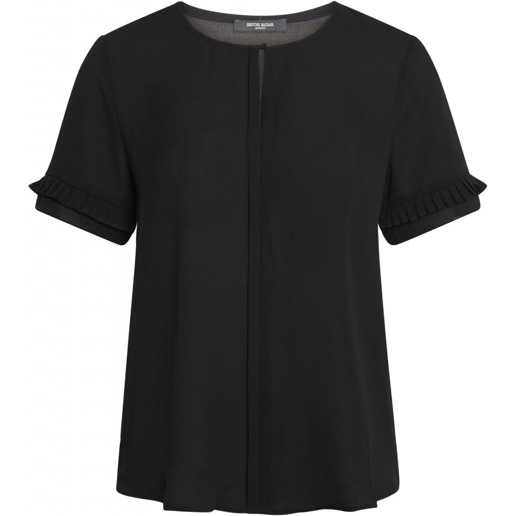 Bruuns Bazaar Women Camilla Sike top Tops Sort