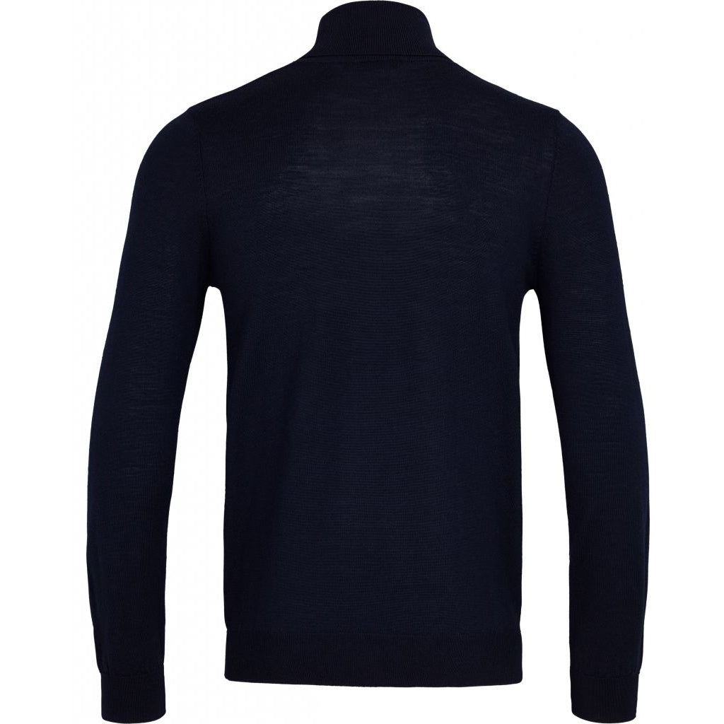 Bruuns Bazaar Men Charles roll neck Knit Black