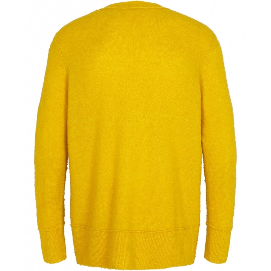 Bruuns Bazaar Men Chris sweater Knit Yellow