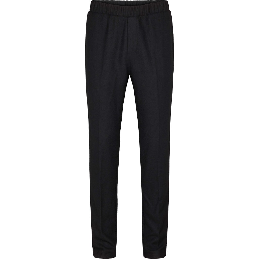 Bruuns Bazaar Men Clement Clark Pant Pants Sort