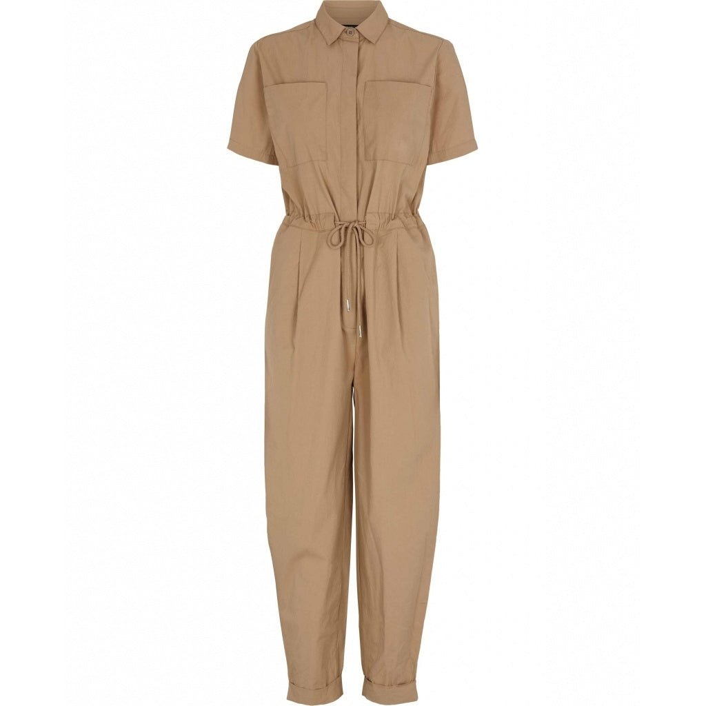 Bruuns Bazaar Women Freyie Annis Jumpsuit Jumpsuit Roasted Grey Khaki
