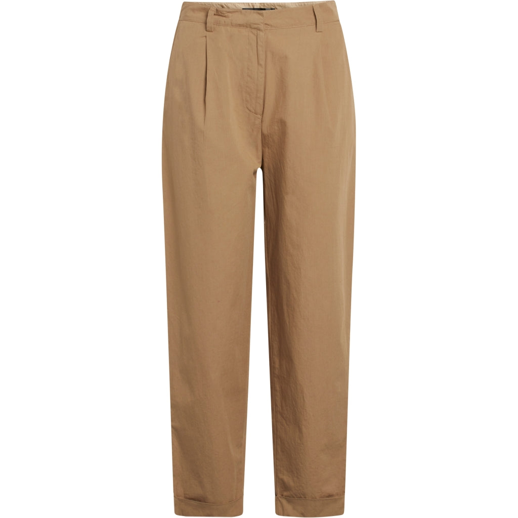 Bruuns Bazaar Women Freyie Nomi pant Pants Roasted Grey Khaki