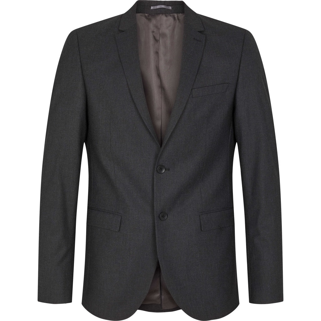 Bruuns Bazaar Men Karl Suit Suit Grey Melange