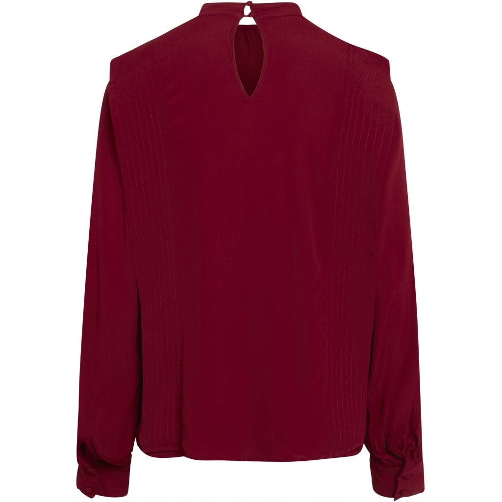 Bruuns Bazaar Women Lilli Nome blouse blouse Rosewood Red