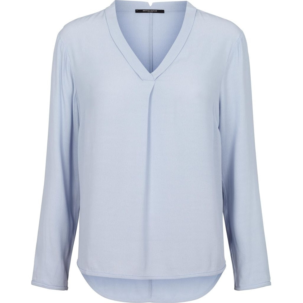 Bruuns Bazaar Women Liva Top Tops Blue Violette