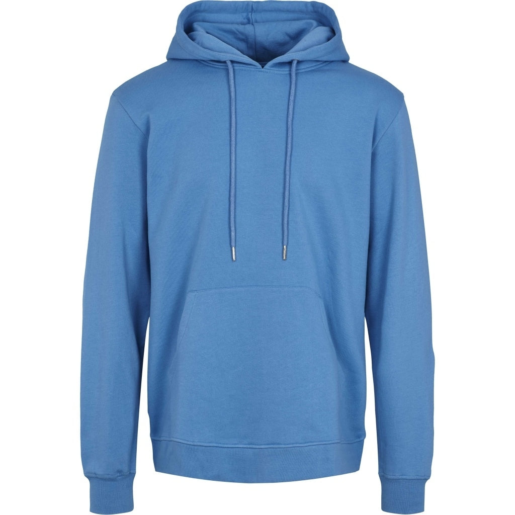 Bruuns Bazaar Men Paul Gabriele hoodie sweat Sweatshirt Paris Blue