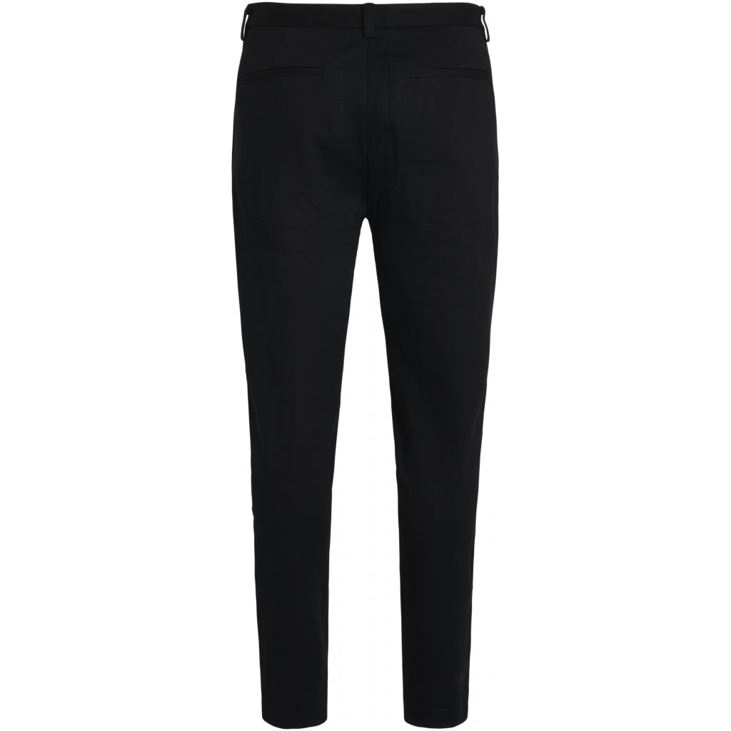 Bruuns Bazaar Men Politan zip pants Pants Sort