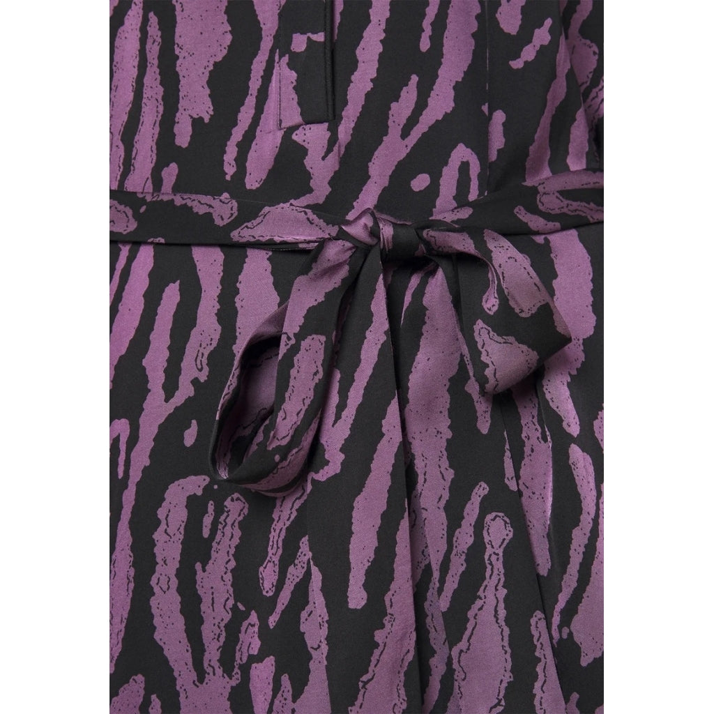 Bruuns Bazaar Women Tree Ayan Kjole Dress Tree artwork purple