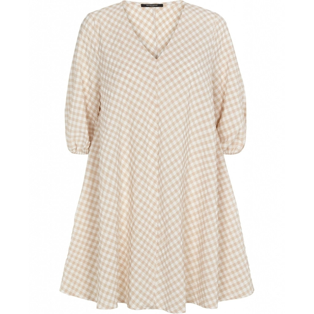 Bruuns Bazaar Women Seer Allure dress Dress Sand/white check