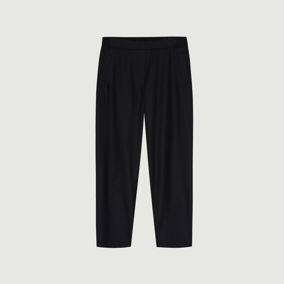 Kasan Trousers Black