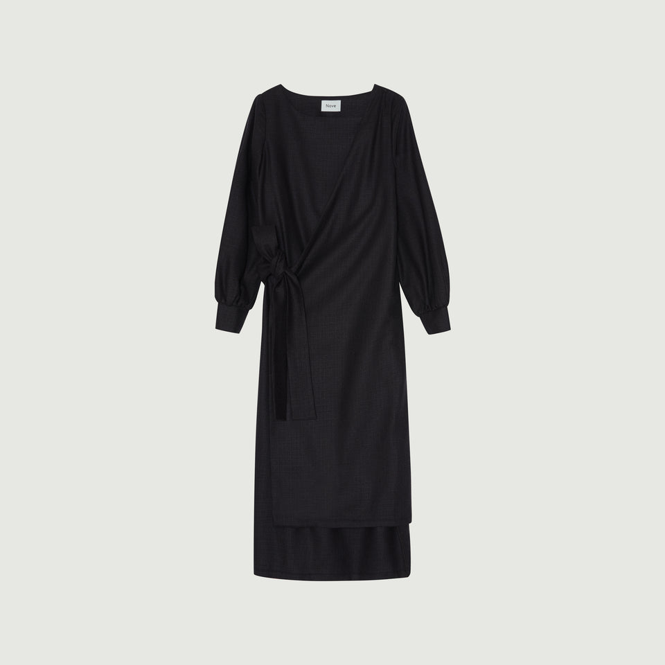 Mae Dress Light Black