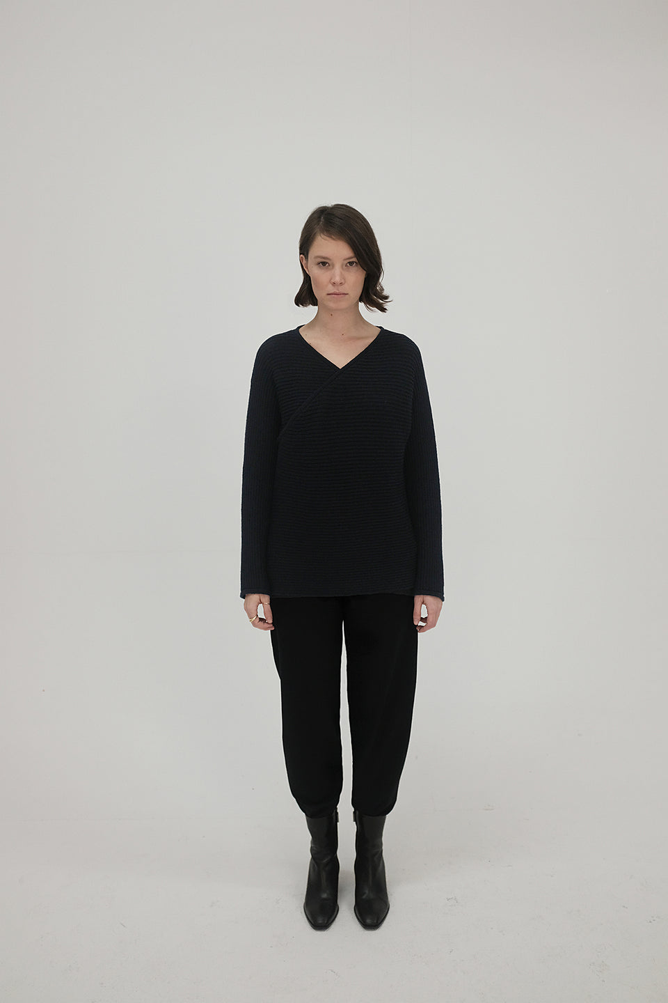 Ona Rib Knit Midnight Blue