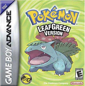 Pokemon Leaf Green Version