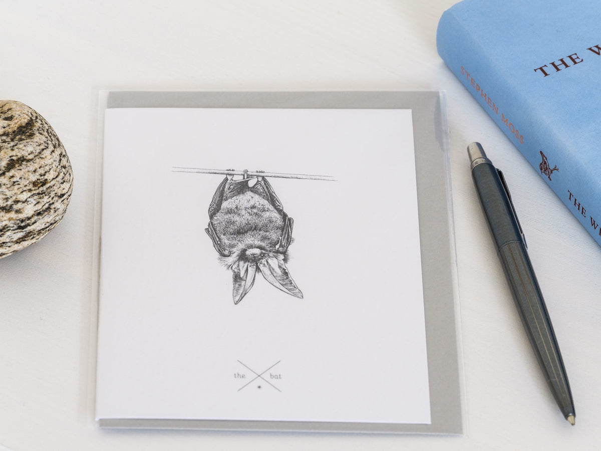 Bat Greetings Card - NatureTree