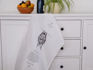 Bat Tea Towel - NatureTree