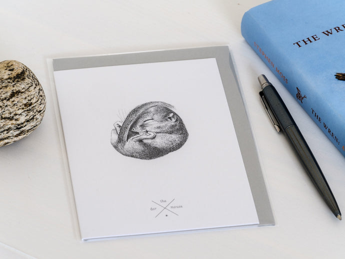 Dormouse Greetings Card - NatureTree