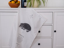 Load image into Gallery viewer, Hedgehog Tea Towel - NatureTree