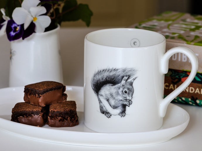 Red Squirrel Mug - NatureTree