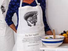 Load image into Gallery viewer, Red Squirrel Apron - NatureTree